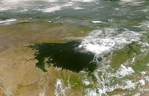 """Lake victoria NASA"" by NASA - http://visibleearth.nasa.gov/view_rec.php?id=709. Licensed under Public Domain via Wikimedia Commons - https://commons.wikimedia.org/wiki/File:Lake_victoria_NASA.jpg#/media/File:Lake_victoria_NASA.jpg"